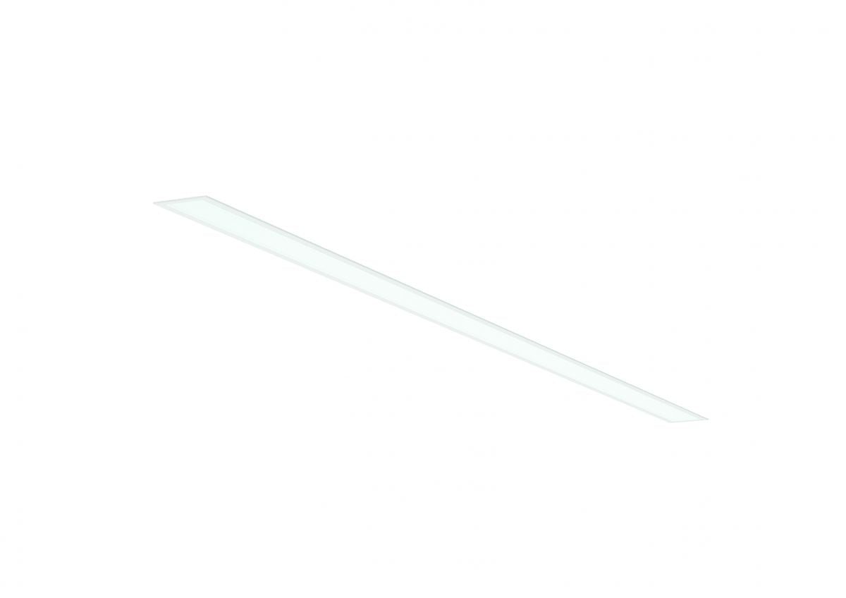 2slick small line inbouw lijnverlichting single 3100x40x65mm 3000k 4480lm 60w fix