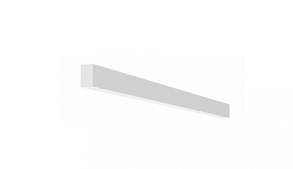 2slick small line opbouw lijnverlichting single 1200x40x65mm 3000k 1775lm 21w dali