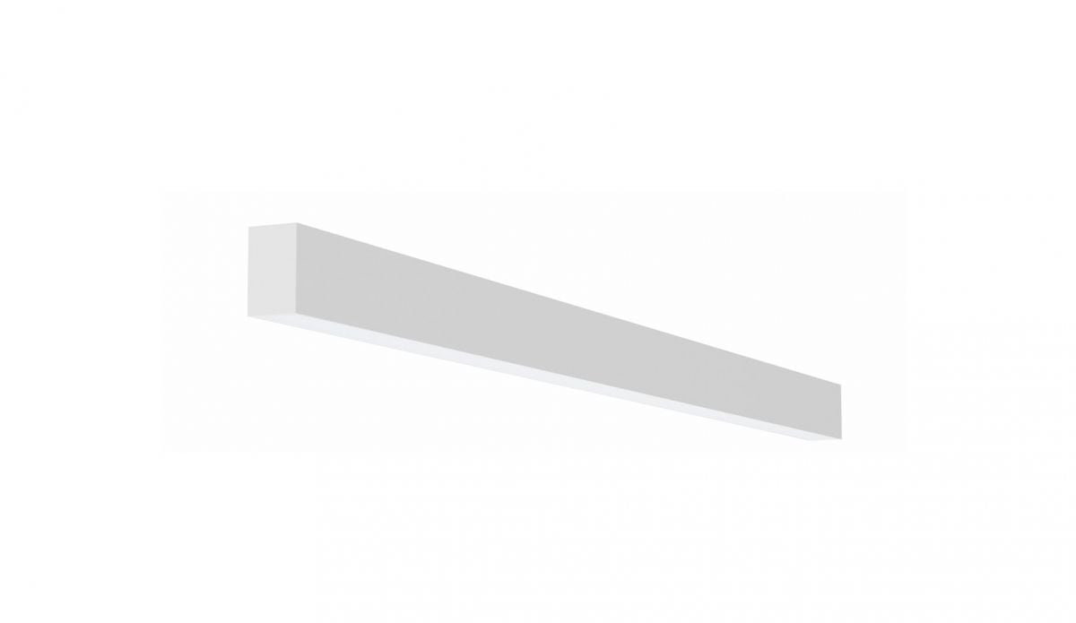 2slick small line opbouw lijnverlichting single 1500x40x65mm 3000k 2218lm 25w dali