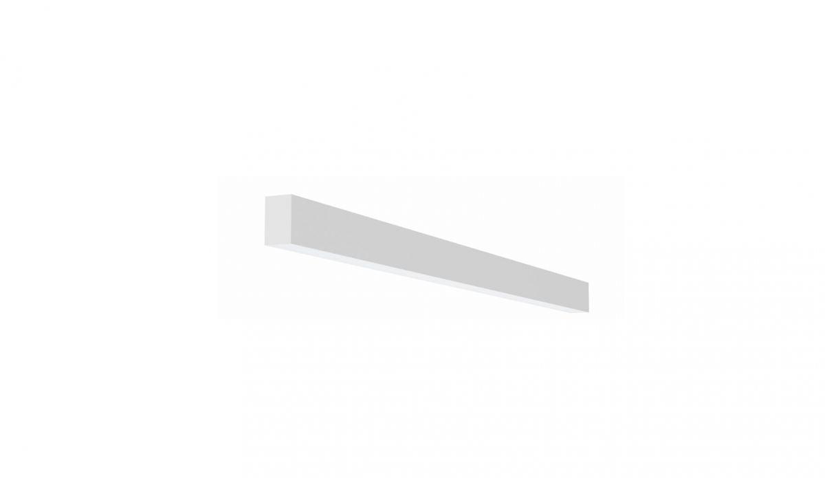 2slick small line opbouw lijnverlichting single 600x40x65mm 3000k 887lm 13w fix
