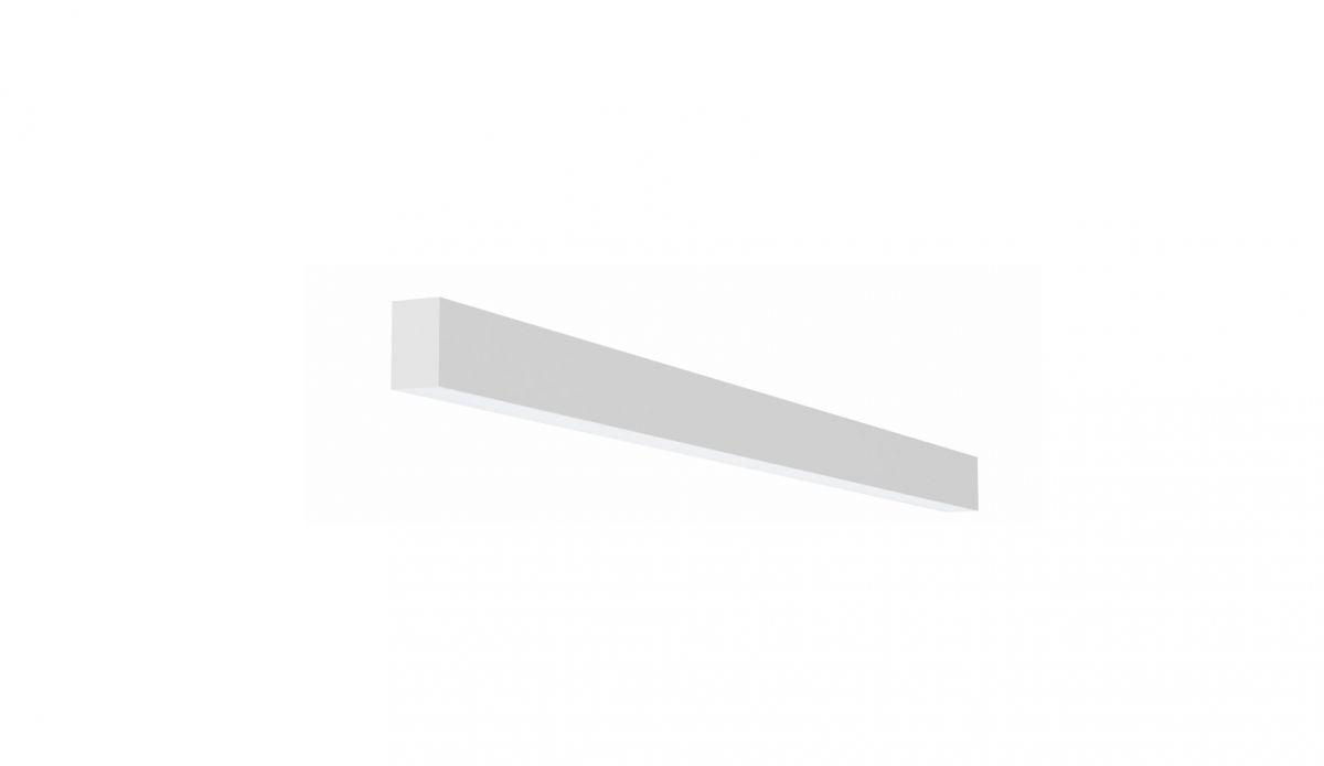2slick small line opbouw lijnverlichting single 900x40x65mm 3000k 1331lm 17w fix