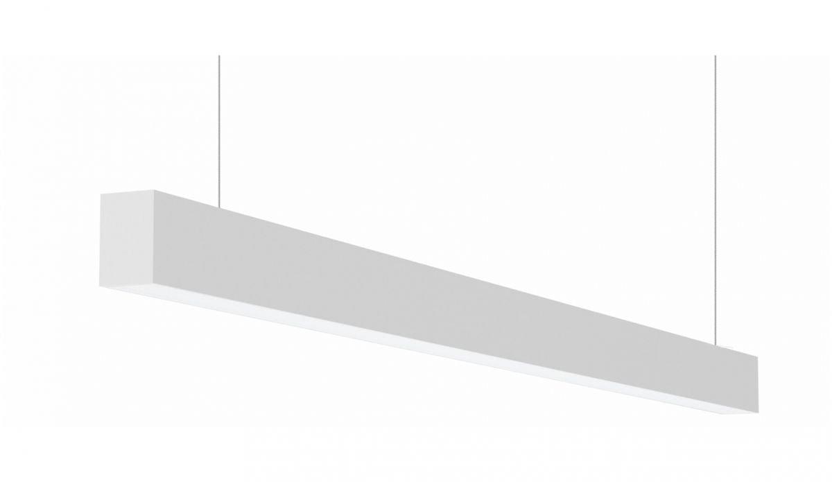 2slick small line pendel lijnverlichting single 3100x40x65mm 3000k 4480lm 60w fix