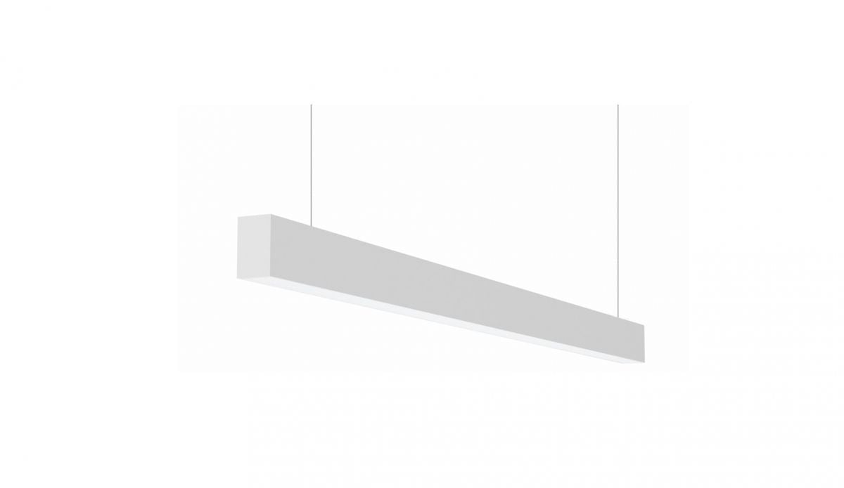 2slick small line pendel lijnverlichting single directindirect 1500x40x65mm 3000k 3993lm 2521w fix