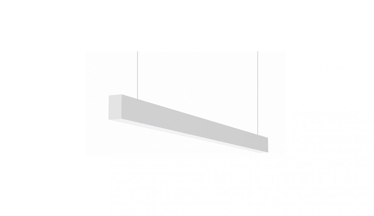 2slick small line pendel lijnverlichting single directindirect 1200x40x65mm 4000k 2832lm 2113w dali