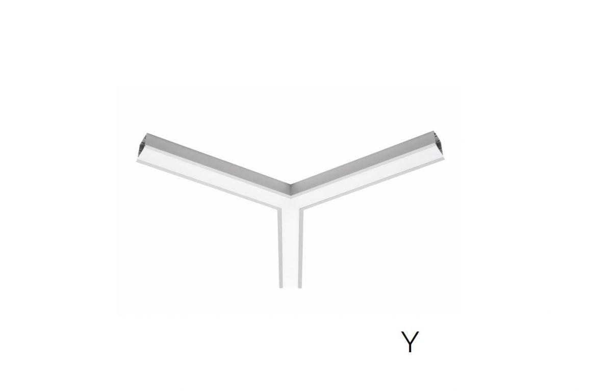 2slick small line recessed joint y 600x40x65mm 3000k 2662lm 35w fix