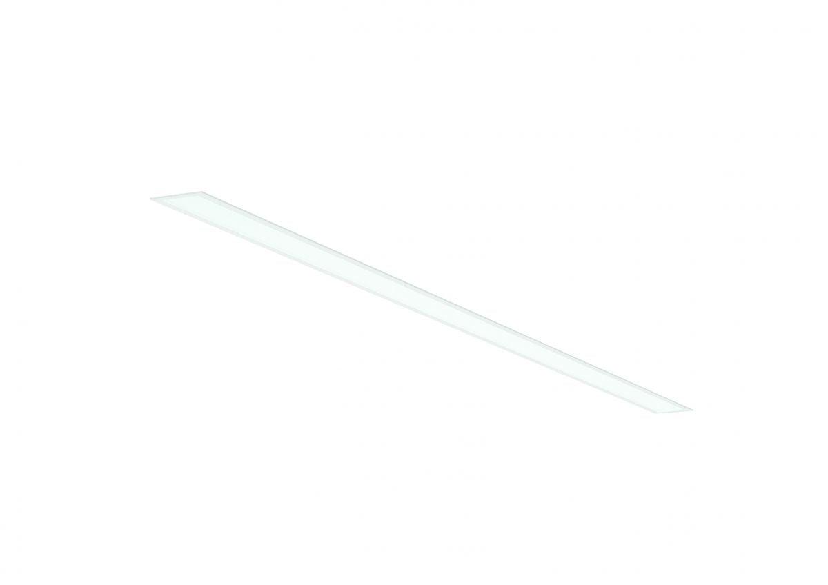2slick small line recessed line lighting single 1500x40x65mm 3000k 2218lm 25w dali