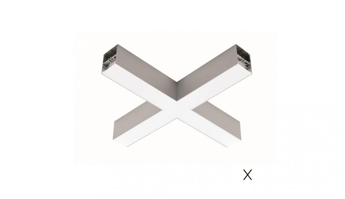 2slick small line surfaced joint x 608x608x40x65mm 4000k 2832lm 35w fix