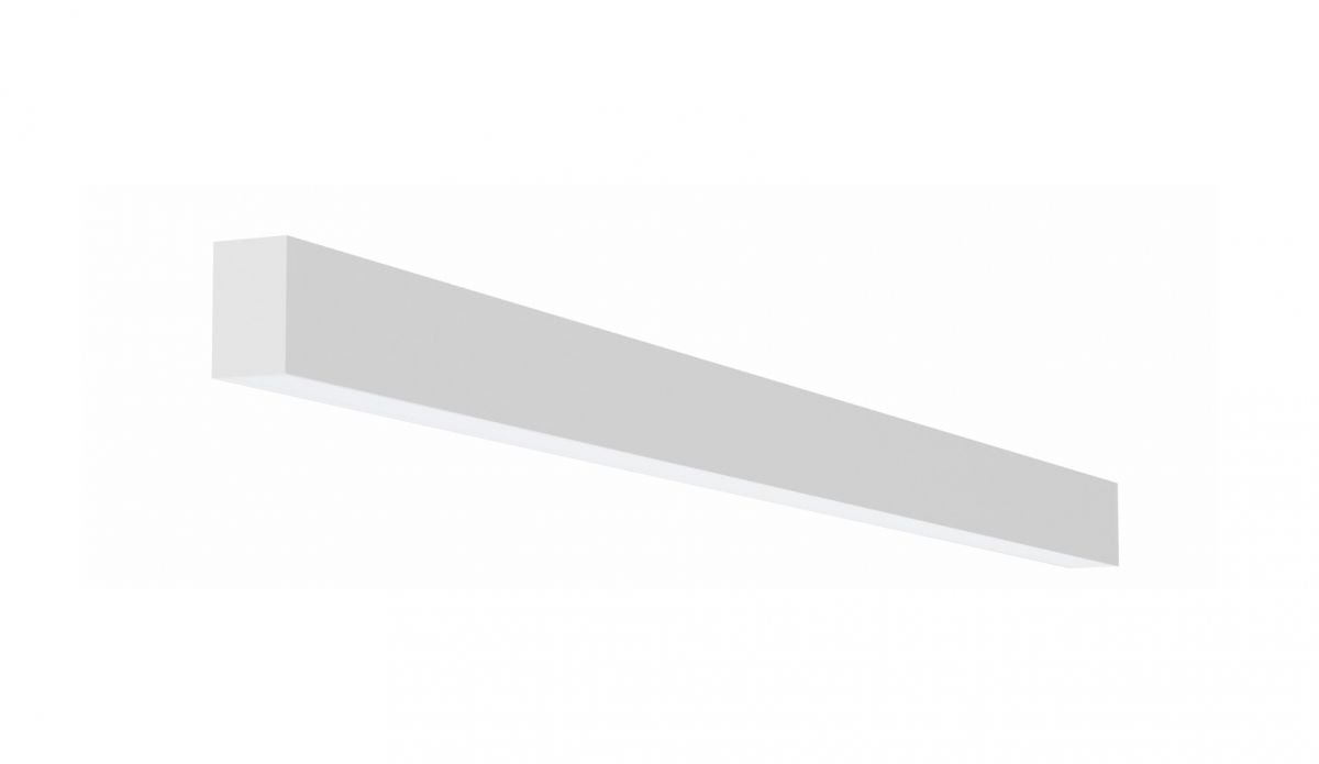 2slick small line surfaced line lighting single 2400x40x65mm 4000k 3776lm 40w dali