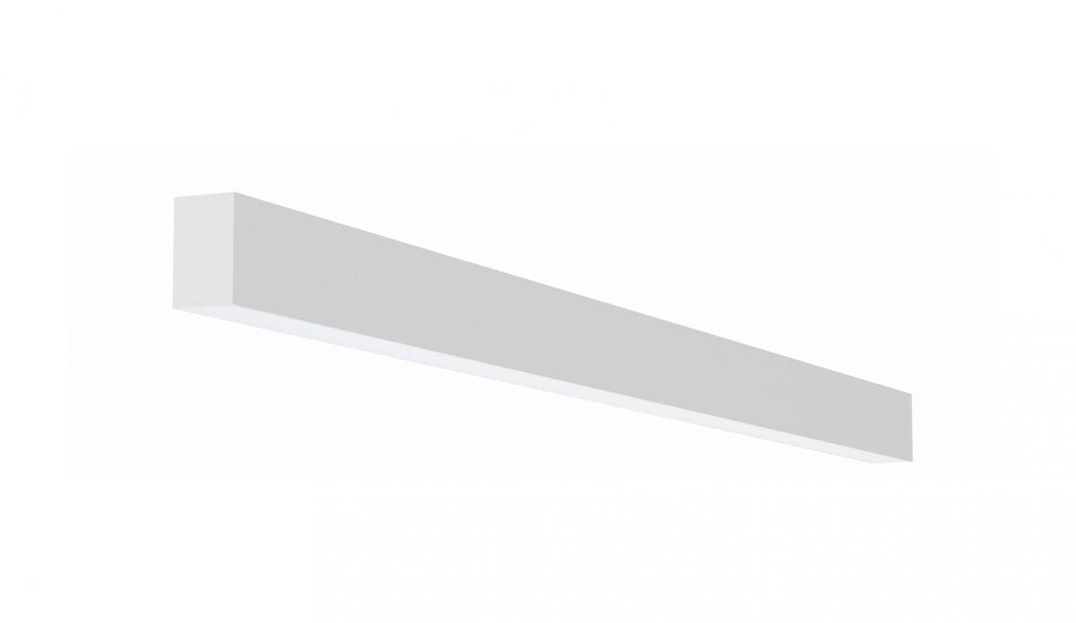 2slick small line surfaced line lighting single 2400x40x65mm 4000k 3776lm 40w fix