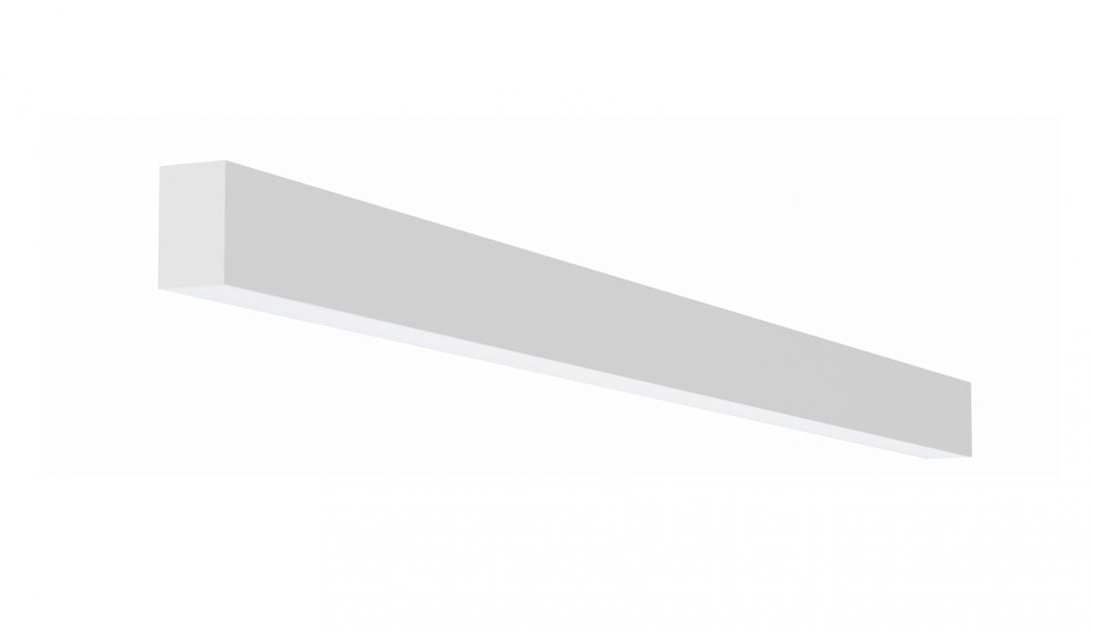 2slick small line surfaced line lighting single 2700x40x65mm 3000k 4436lm 50w dali