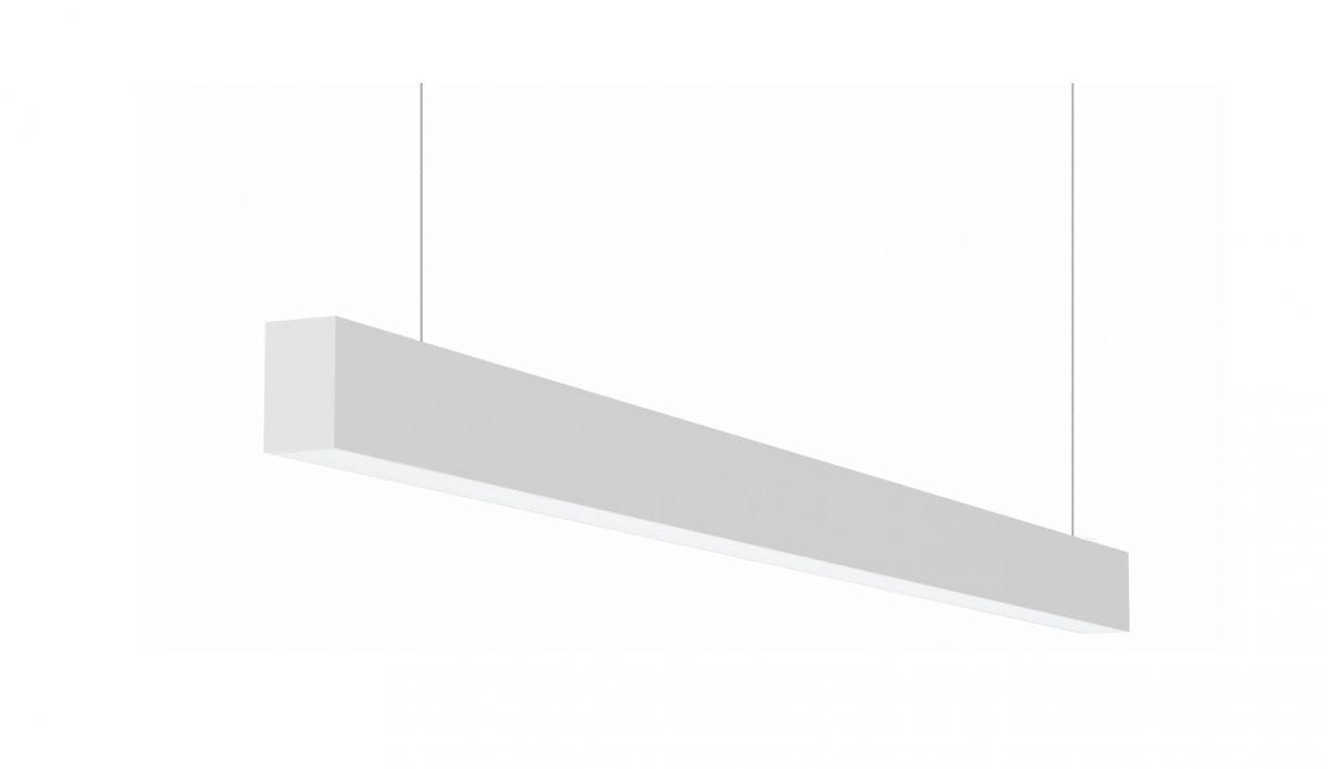 2slick small line suspended line lighting single directindirect 2400x40x65mm 4000k 6014lm 4035w dali