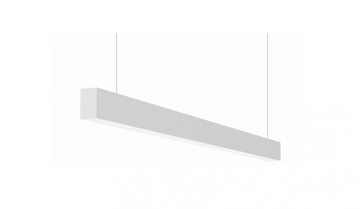 2slick small line suspended line lighting single directindirect 1800x40x65mm 3000k 4480lm 3525w dali