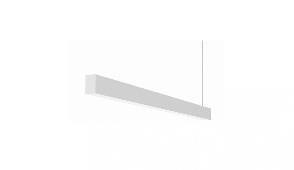 2slick small line suspended line lighting single directindirect 1200x40x65mm 3000k 2662lm 2113 dali