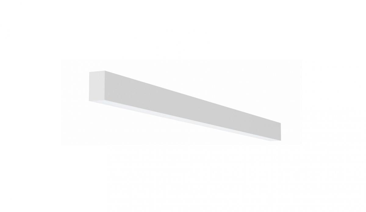 2slick small line wall lighting single 1200x40x65mm 3000k 1775lm 21w dali