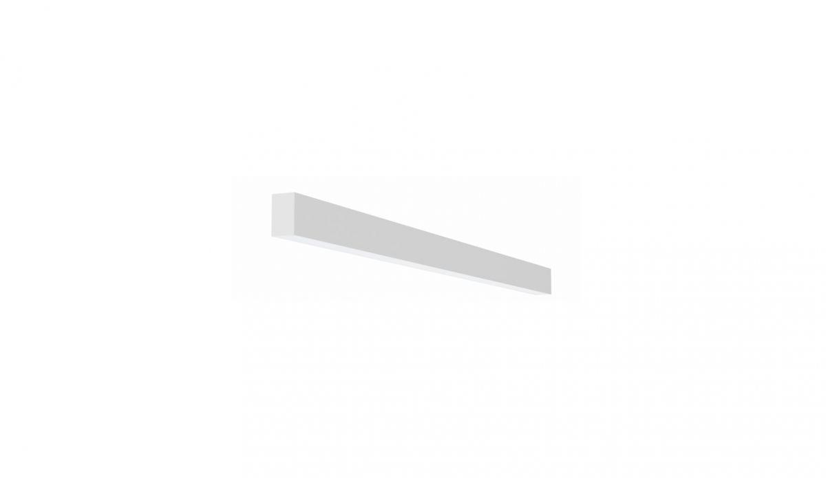 2slick small line wall lighting single 600x40x65mm 3000k 887lm 13w fix
