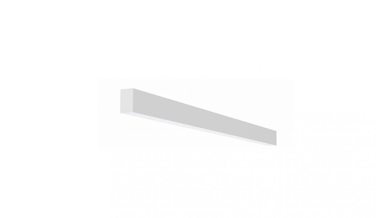 2slick small line wall lighting single 900x40x65mm 3000k 1331lm 17w dali