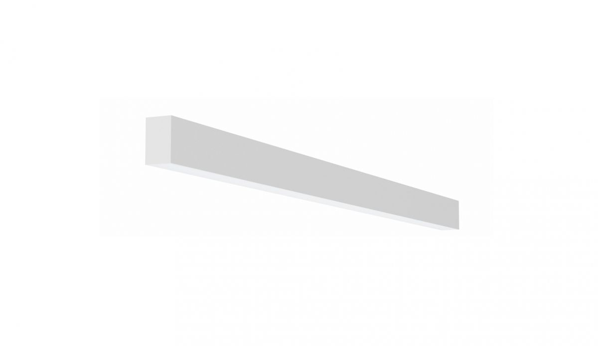 2slick small line wandverlichting single 1200x40x65mm 3000k 1775lm 21w dali