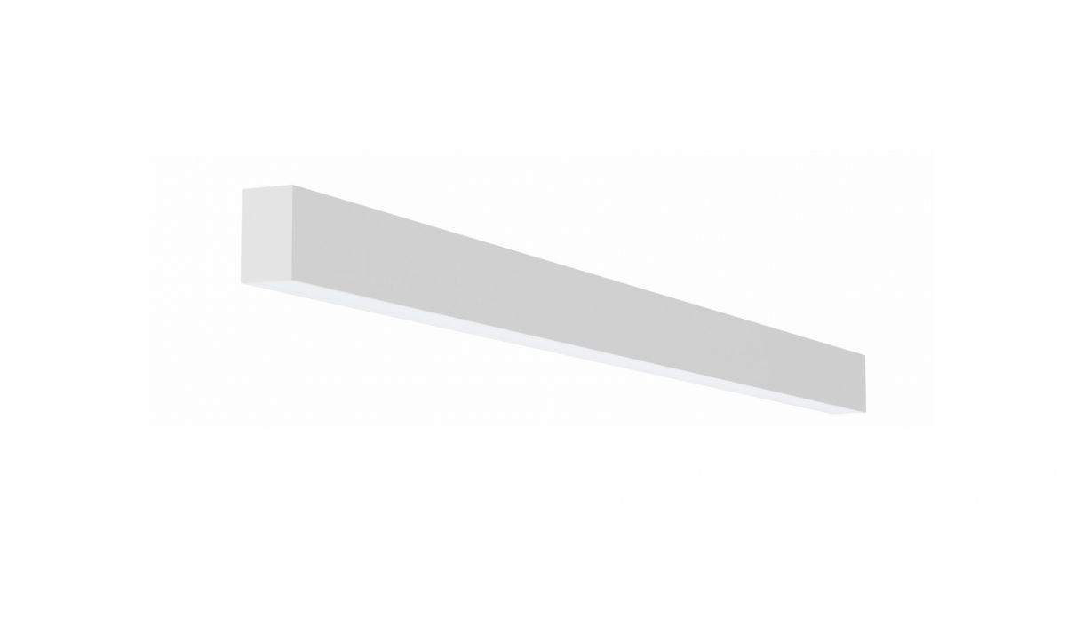 2slick small line wandverlichting single 1500x40x65mm 4000k 2360lm 25w fix