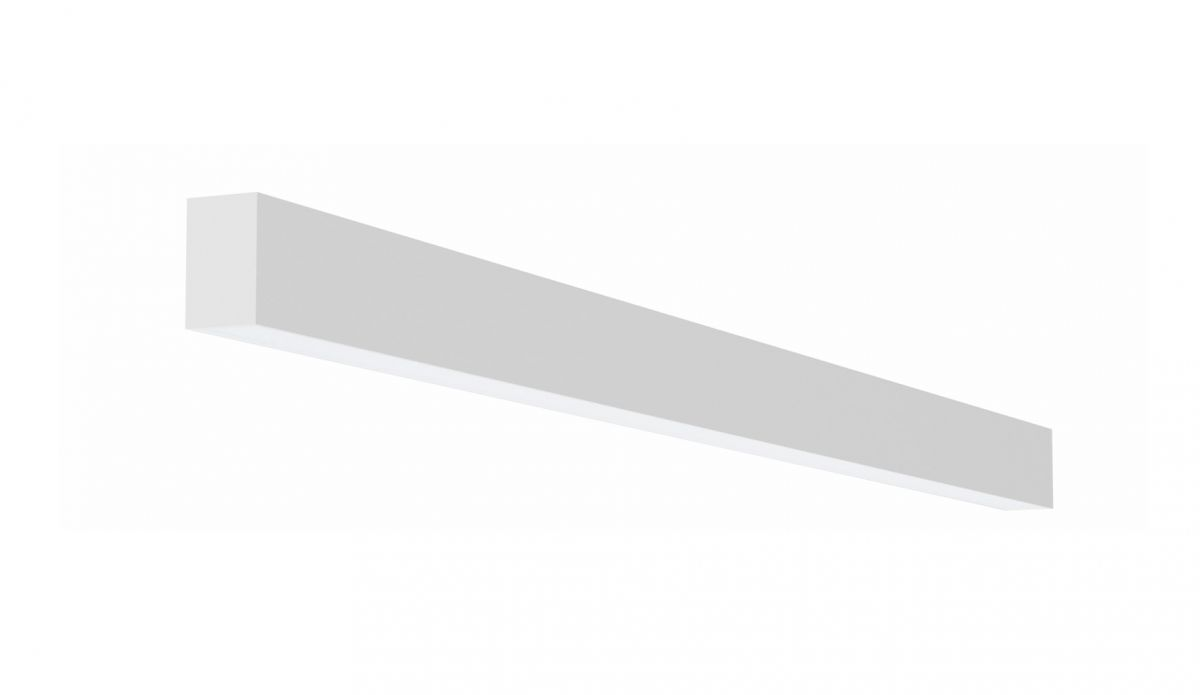 2slick small line wandverlichting single 2400x40x65mm 3000k 3549lm 40w fix