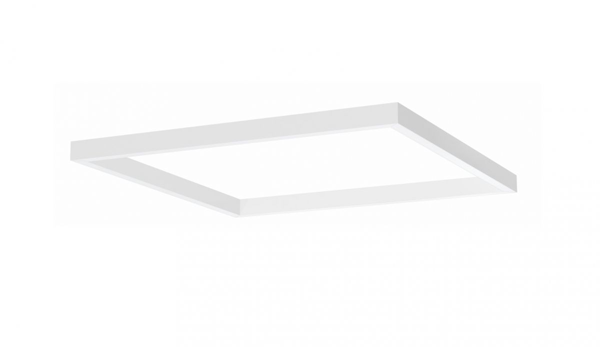 4side small line luminaire surfaced 1200x1200mm 3000k 7098lm 4x21w dali
