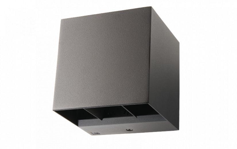 wandarmatuur voor buiten ip65 vierkant instelbaar dimbaar
