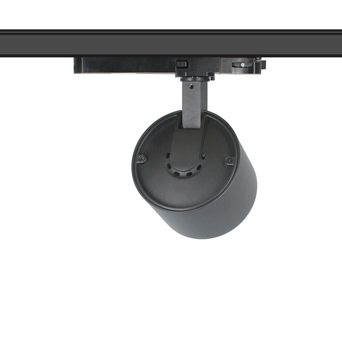 blecas trackspot 95x70mm 3000k 2000lm 20w 36 black casambi