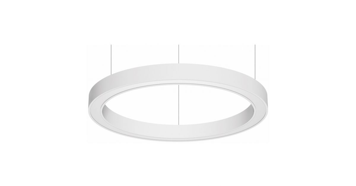 blore 111 gependeld armatuur rond directindirect 1200mm 3000k 8194lm 70w35w fix