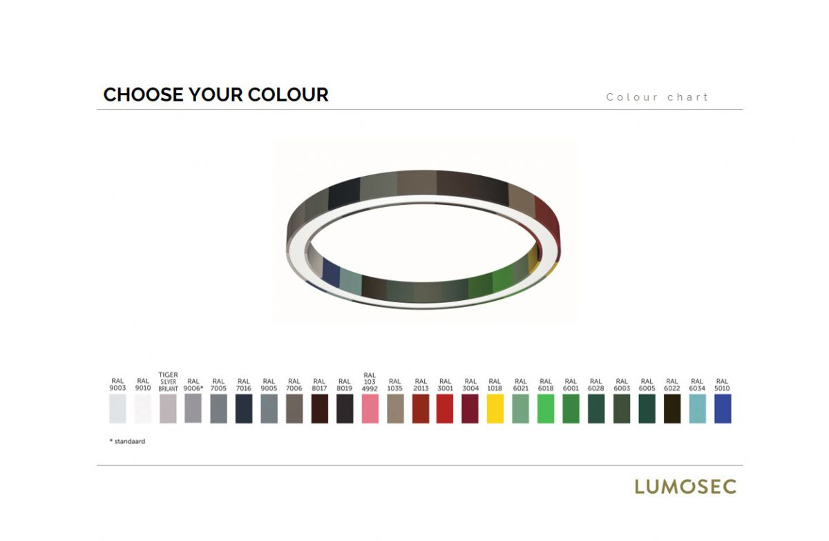 blore 55 ring luminaire 24 colours free
