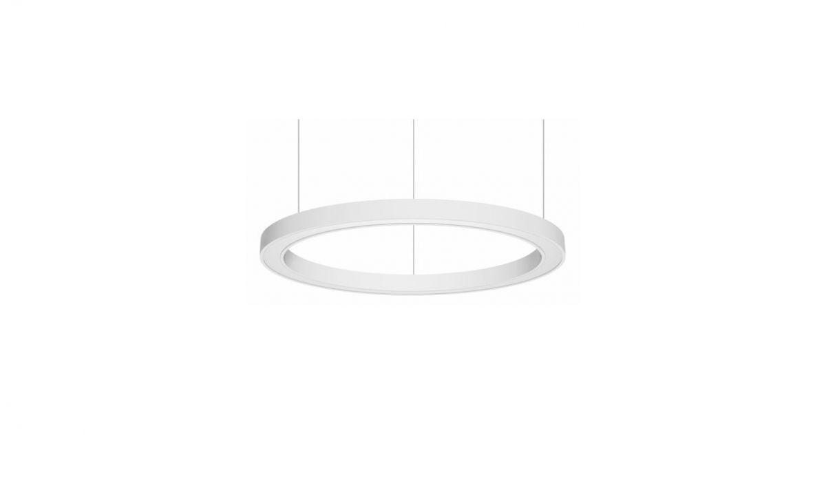 blore 55 pedant luminaire ring 700mm 3000k 2657lm 35w fix