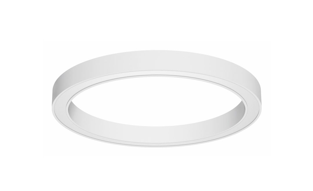 blore 80 opbouw armatuur ring 1500x80mm 4000k 9484lm 105w fix