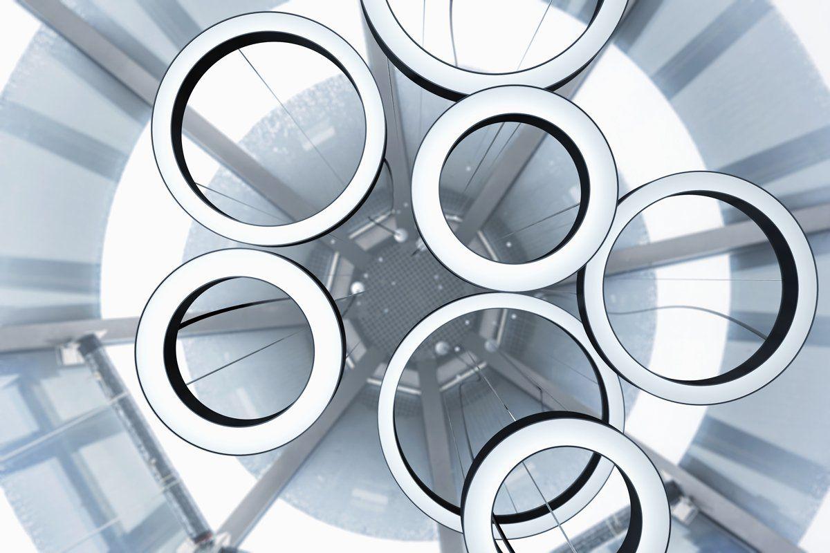 pendelverlichting ring rond