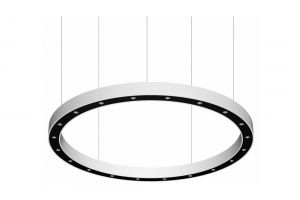 BLORE cup, ring armatuur gependeld, 1800mm, 3000k, 13654lm, 20x6w, fix
