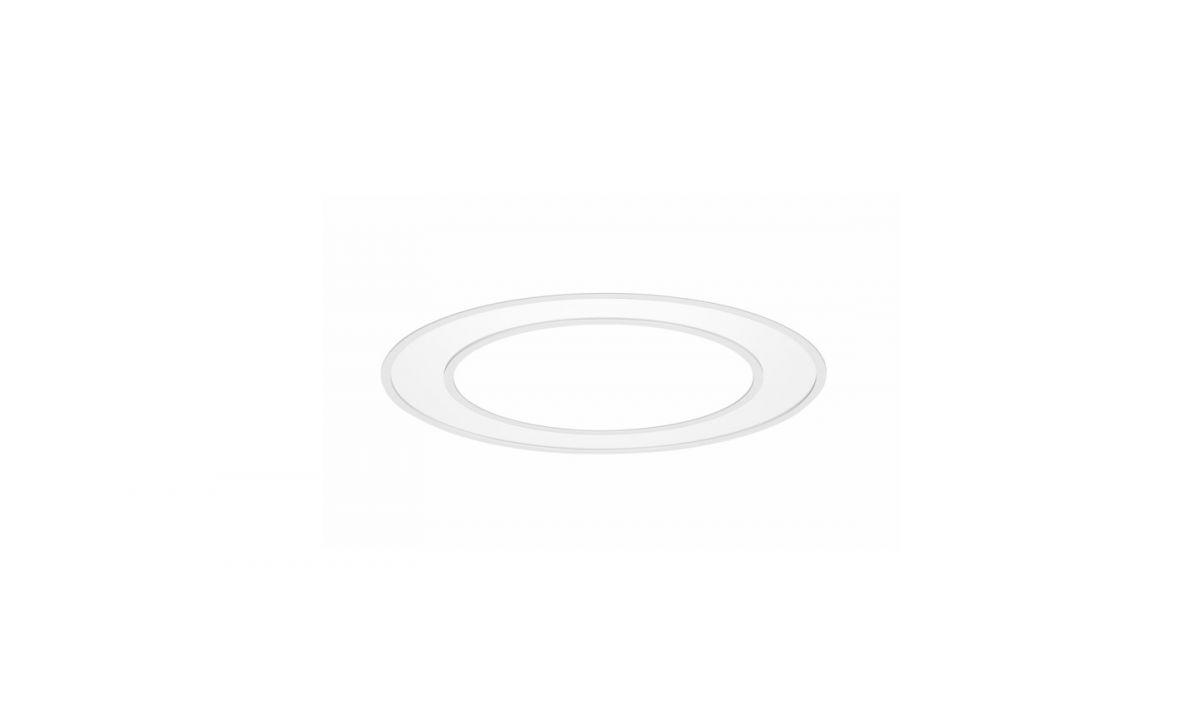 blore inbouw armatuur ring 700mm 3000k 5252lm 70w dali