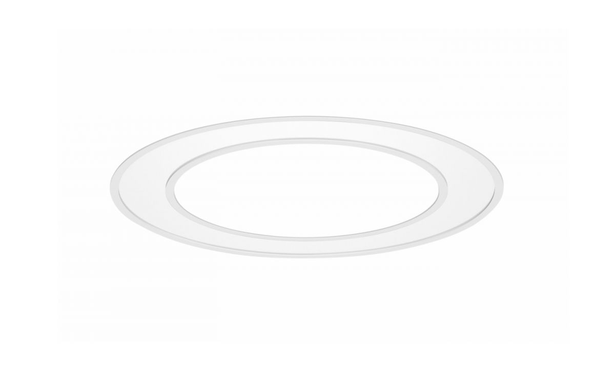 blore recessed luminaire ring 1500mm 3000k 8255lm 105w dali