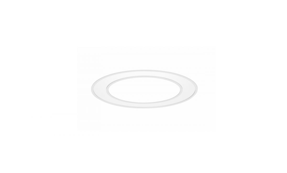 blore recessed luminaire ring 700mm 3000k 2705lm 35w fix