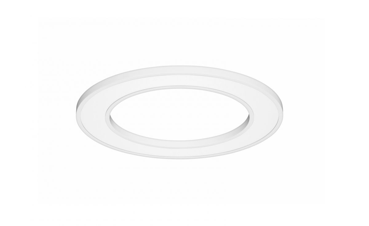 blore semirecessed luminaire ring 1200mm 3000k 5503lm 70w fix