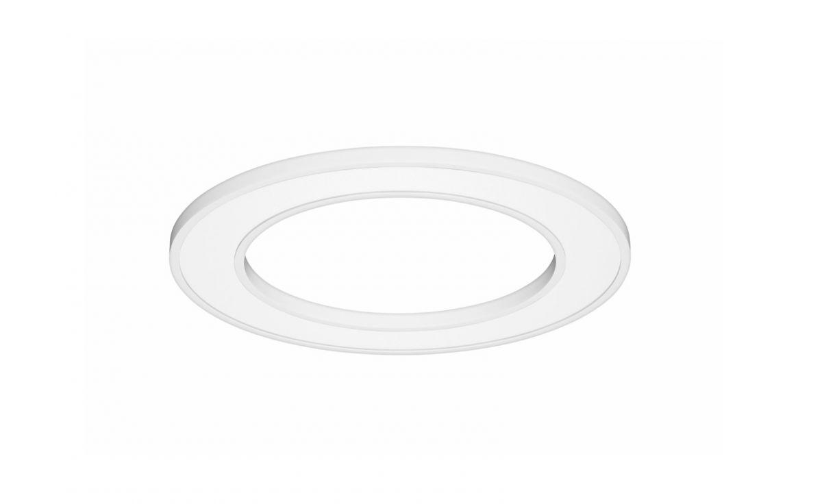 blore semirecessed luminaire ring 1200mm 4000k 5855lm 70w dali