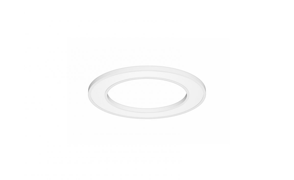blore semirecessed luminaire ring 700mm 4000k 2878lm 35w dali
