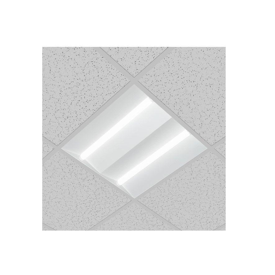 faber design led paneel 600x600mm high efficient ra80 3000k 5063lm 492w wit dali