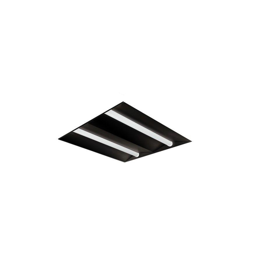 faber design led paneel 600x600mm high efficient ra80 4000k 4526lm 420w wit dali