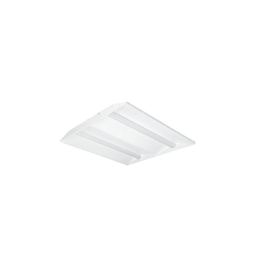 faber design led paneel 600x600mm high efficient ra80 4000k 5227lm 492w wit dali