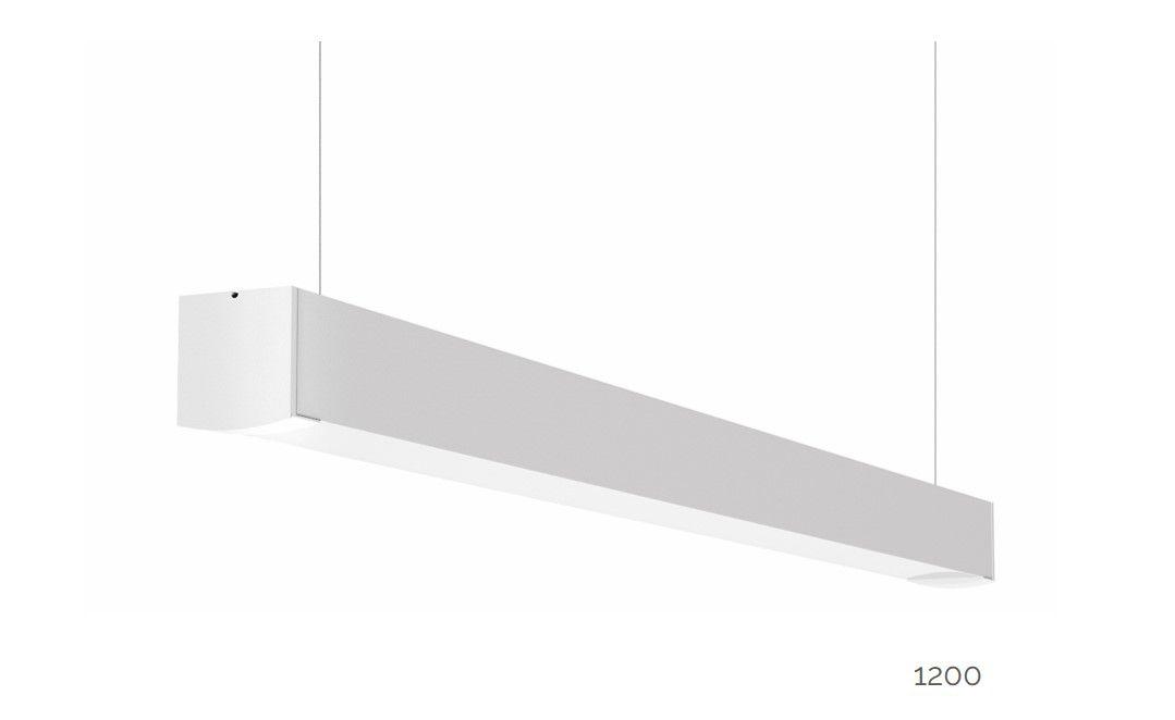 gaudi 70 lijnarmatuur single pendel ip54 1200mm 3000k 4305lm 35w fix