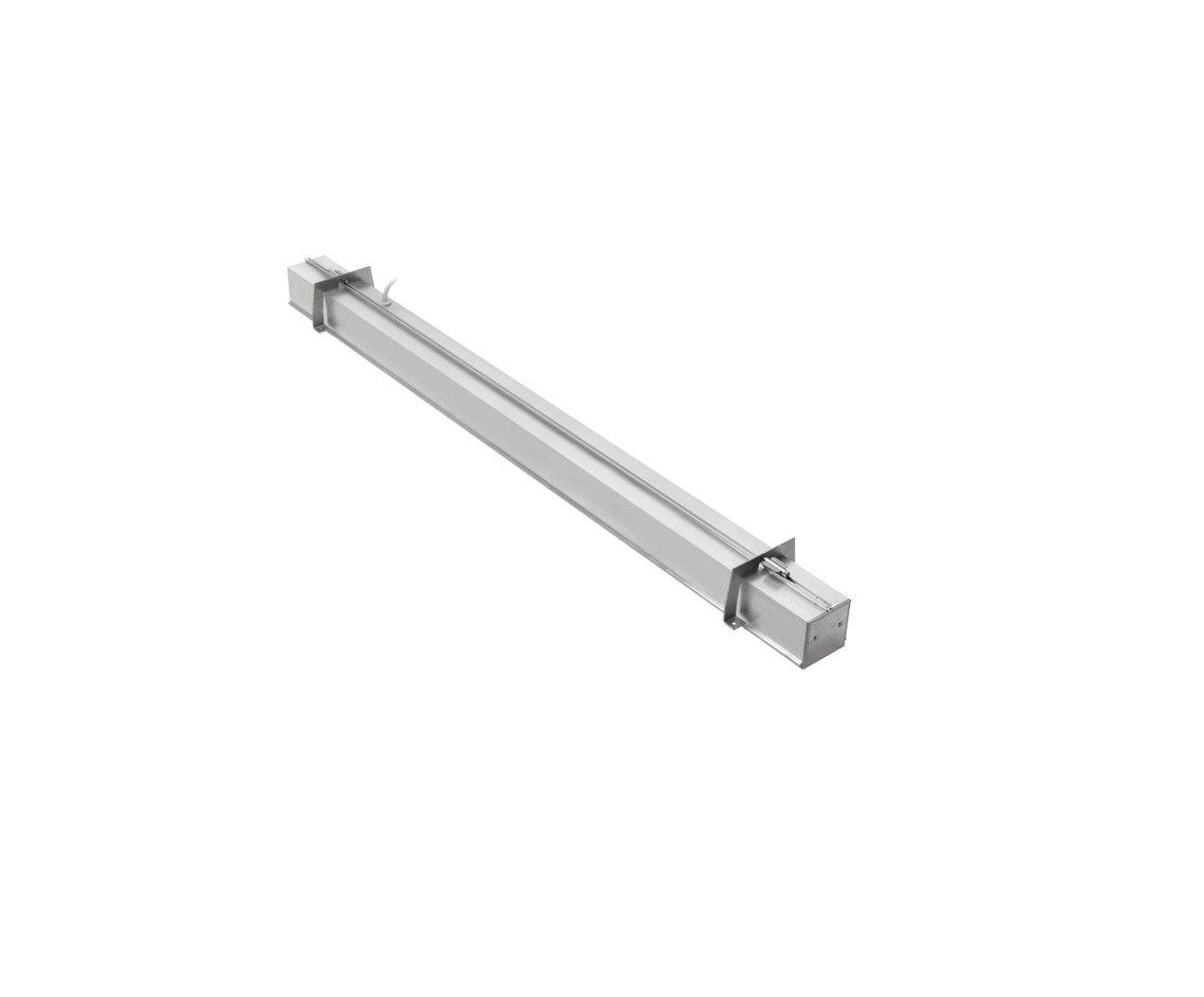 gaudi 70 line lighting end recessed trimless 3100mm 4000k 12595lm 105w dali