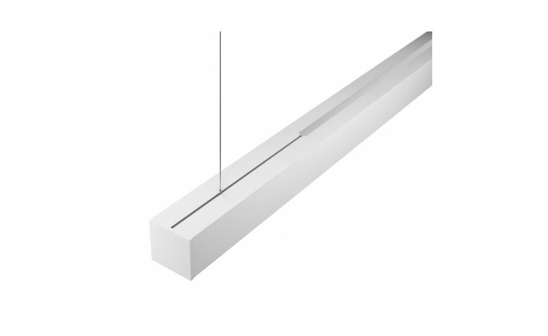 gaudi 70 line luminaire directindirect single suspended 1200mm 3000k 7011lm 3520w dali