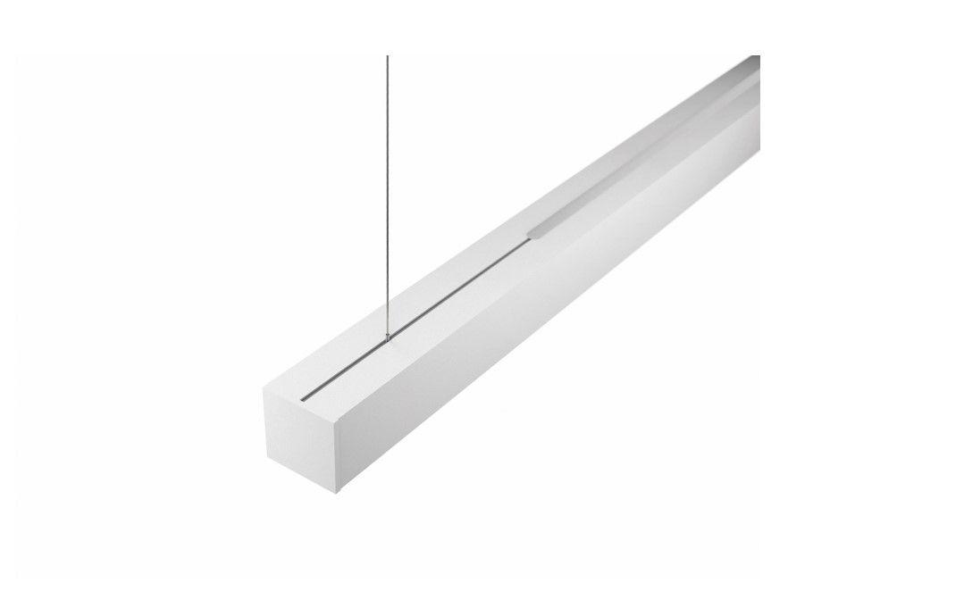 gaudi 70 line luminaire directindirect single suspended 1800mm 4000k 12300lm 5035w dali
