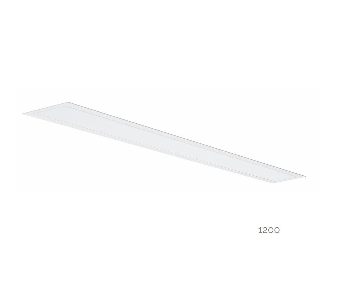 gaudi 70 line luminaire single recessed 1200mm 4000k 4580lm 35w dali
