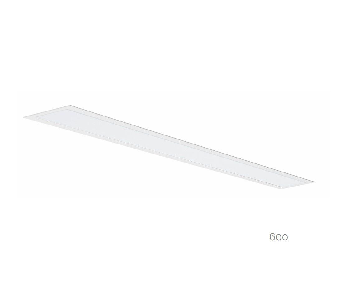 gaudi 70 line luminaire single recessed 600mm 3000k 2152lm 20w dali