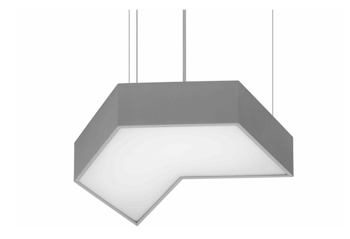 moneo suspended 520x450mm 3000k 3200lm 40w dali