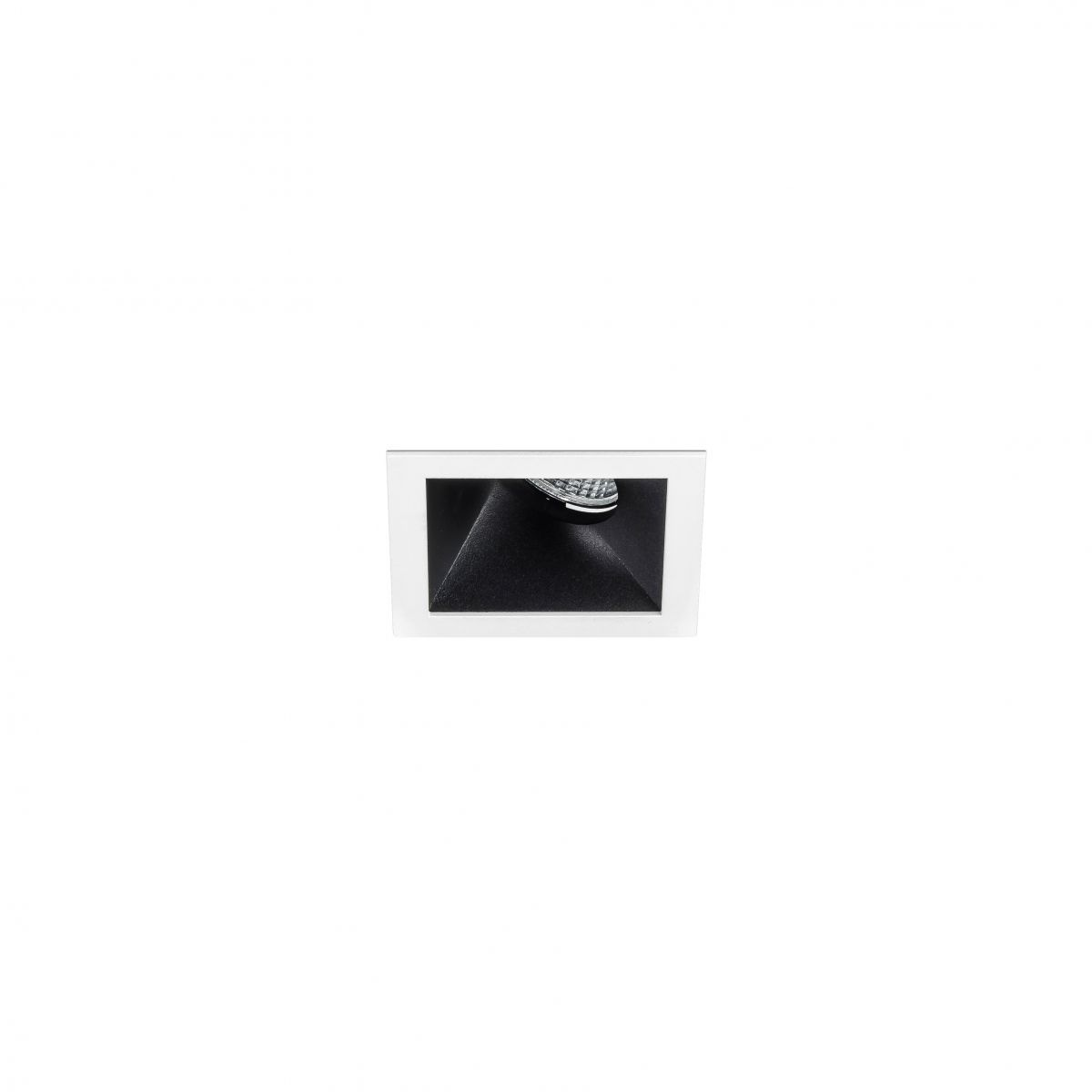 van gogh downlight square wallw 85mm 4000k 767lm 141w ugr 151 black dali