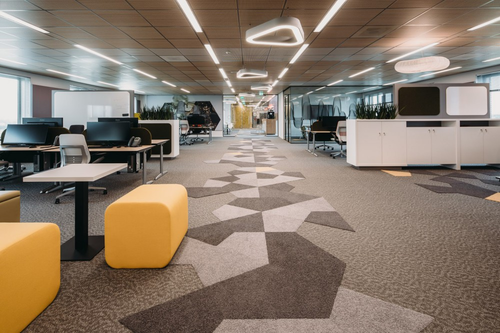 'activity based working' VvAA hoofdkantoor te Utrecht